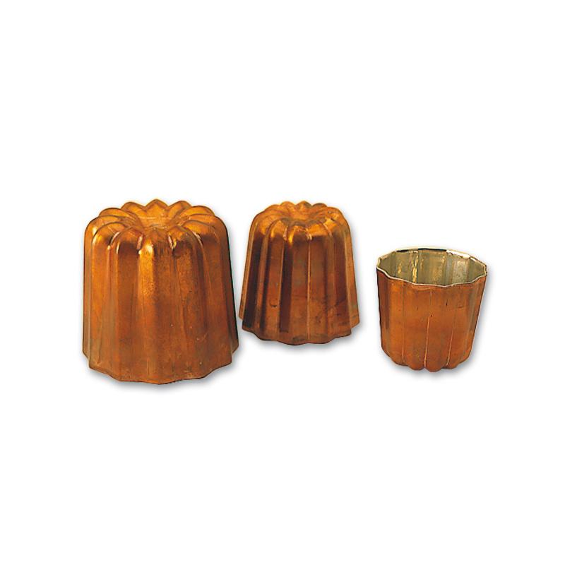 Cannelé form, koppar Ø 45x45 mm