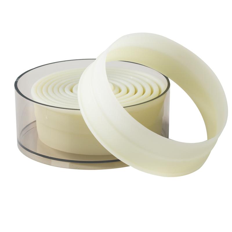Utstickare, plast rund,9 del, 20 - 100 mm
