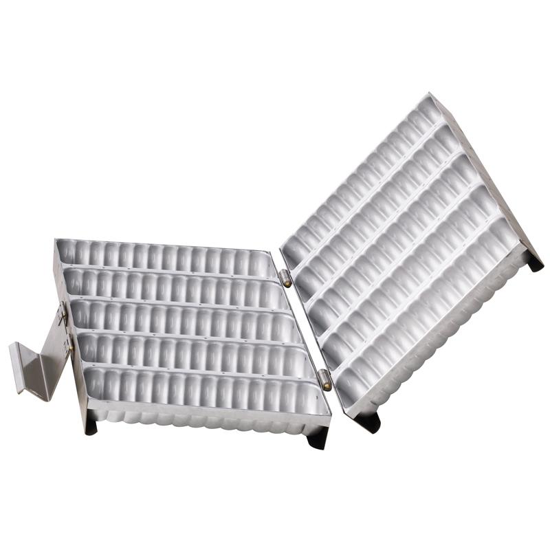 Rondoformset, grå silikon