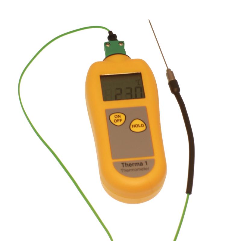 Digitaltermometer -99-299 °C,  1 sek svarstid