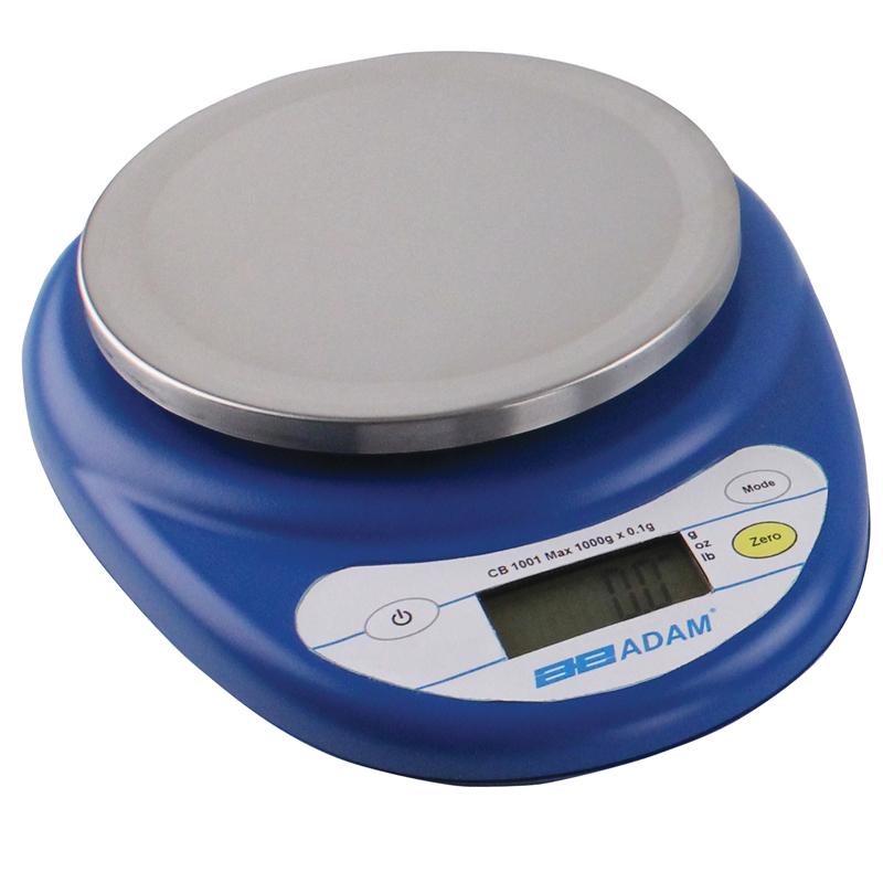 Våg, 500 g, 0,1 g delning, plattform Ø 130 mm