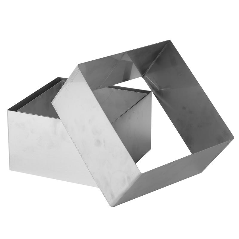 Tårtring rf hög H= 120       180 x 180 mm
