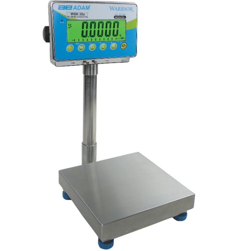 Elektronisk våg 150 kg, 10 g delning, plattform 400x500 mm