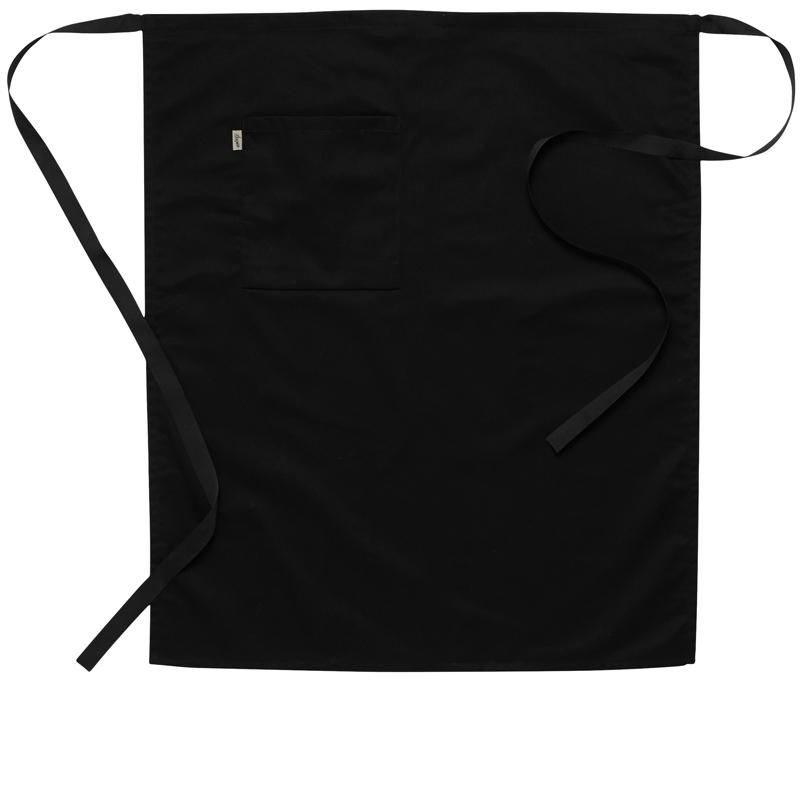 Midjeförkläde svart