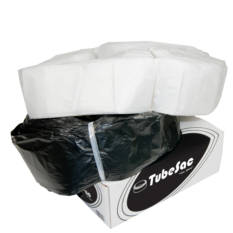 TubeSac Stor, svart, 100m