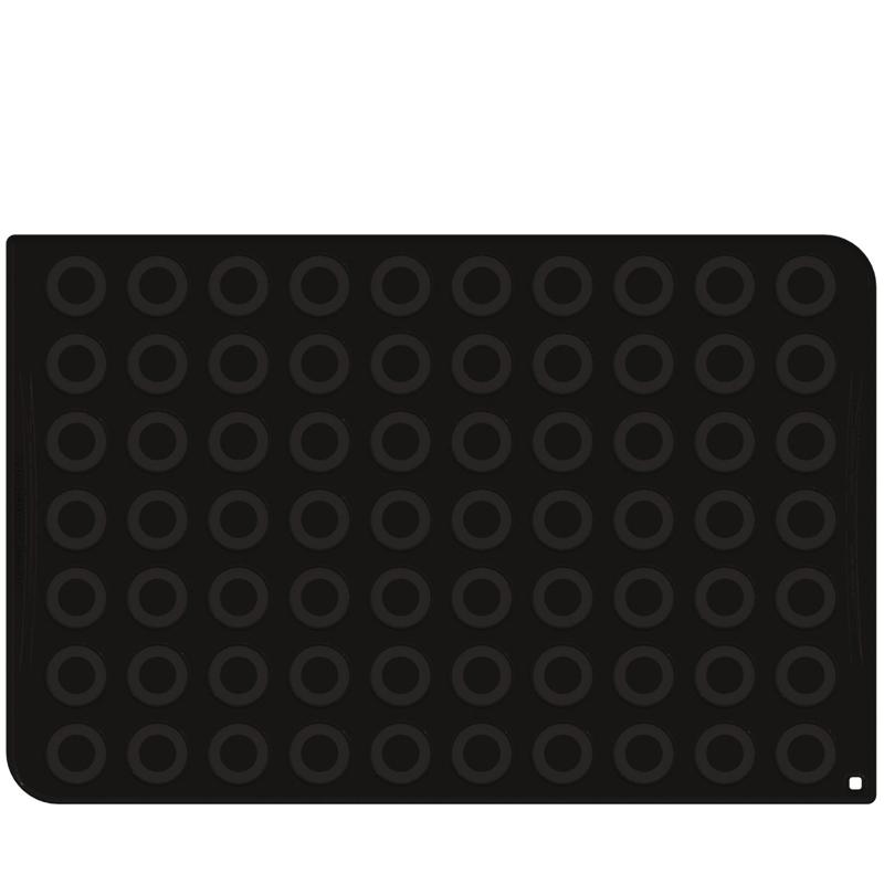 Siliconmatta Macarons  Ø 40 mm, 600x400 mm