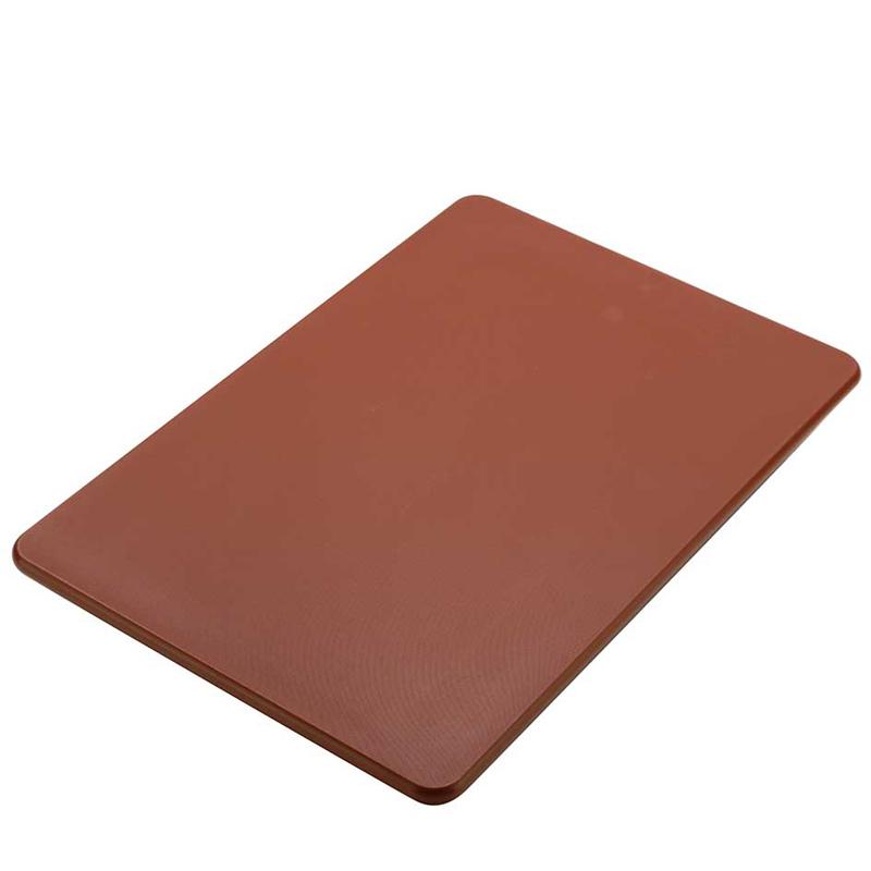 Skärbräda 520x380x12,5 mm  brun