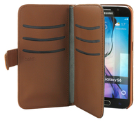 Plånboksväska Extended Galaxy S6 Brun