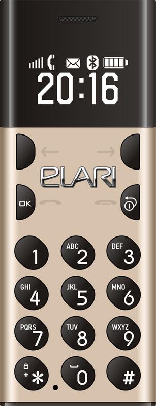 bild 1 av Elari NanoPhone GSM Gold