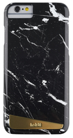 Holdit Selected Magnetskal iPhone 6/6s/7/8 Svart Marmor