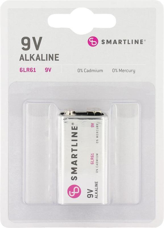 bild 1 av Alkaliskt batteri 6LR61 9V 1-pack