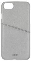 Plånboksfodral iPhone 7/6/6S Silver med kreditkortsfack