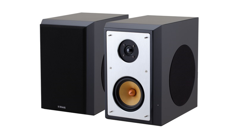 bild 1 av Block Loudspeaker Black Highgloss 3-Way