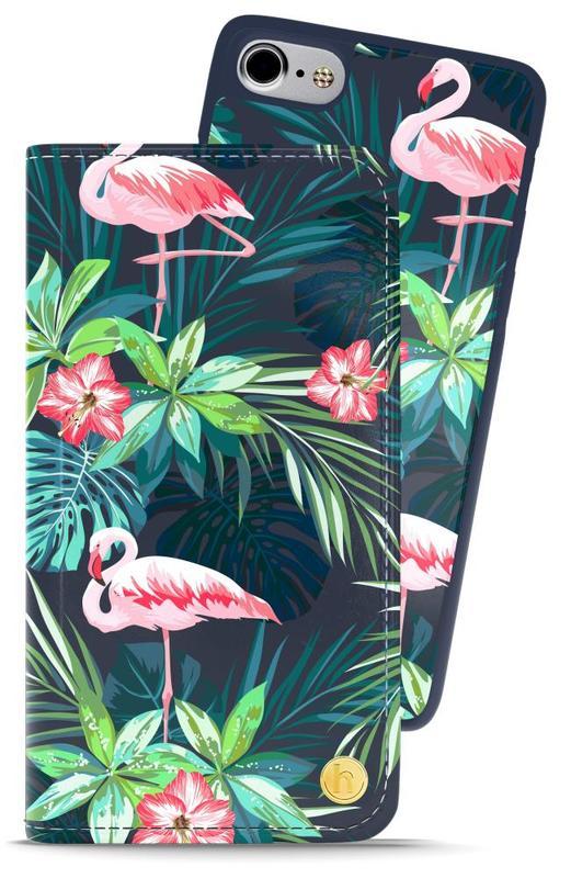 bild 1 av Style by Holdit iPhone 6/6s/7/8 Plånboksväska London Flamingo