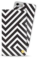 Style by Holdit iPhone 6/6s/7/8  Plånboksväska London Black on white
