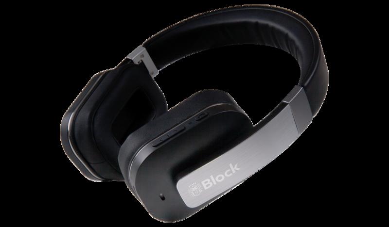 bild 1 av Block Blue:Two Bluetooth Hörlurar med microphone
