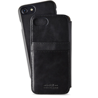 Style by Holdit Slim flip + cardslot iPhone 6/6s/7/8 Black