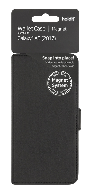 bild 1 av Holdit Plånboksväska Magnet Galaxy A5 (2017)