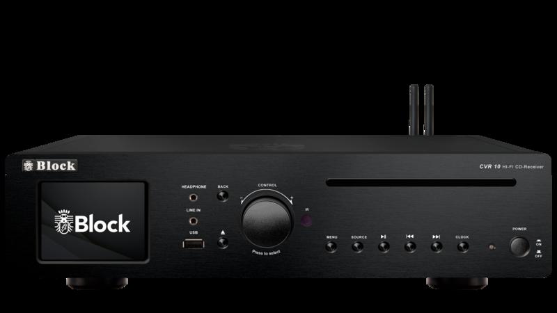 bild 1 av Block CVR-10 CD-Internet-Receiver Black