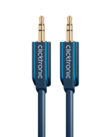 MP3 audio cable, 3 m - 3.5 mm jack cable for MP3 Player,