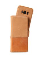 Selected Plånboksväska magnet Galaxy S8 Brown Trönningenäs