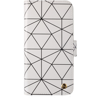 Plånboksväska magnet iPhone X London Superstar White