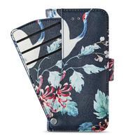 Plånbokfodral kreditkortsfack fram iPh X/Xs Sydney Stylish Oriental Bird