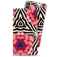 Style by Holdit Plånboksfodral magnet iPhone X/Xs London Dahlia Dream