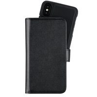 Holdit Plånboksväska Extended Magnet iPhone X/Xs Black