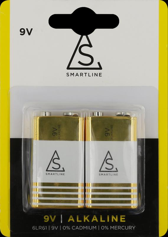 bild 1 av Alkaliskt batteri 6LR61 9V 2-pack