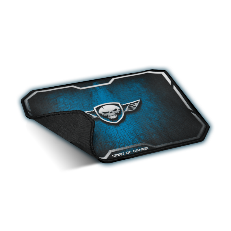 bild 1 av Spirit of Gamer Gaming Mouse Pad - Winged Skull Medium Size Blue