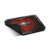 Spirit of Gamer Gaming Mouse Pad - Winged Skull Medium Size Red