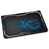 Spirit of Gamer Gaming Mouse Pad - Smokey Skull King Size XL Blue