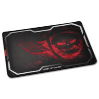 Spirit of Gamer Gaming Mouse Pad - Smokey Skull King Size XL Red