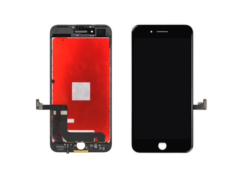 bild 1 av iPhone 7 Plus Skärm med LCD Display - Svart