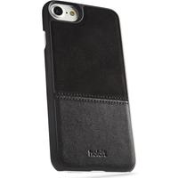 Magnetskal iPhone 6/6s/7/8 Svart Kåsa Läder/Mocca