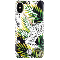 Phone Case iPhone X/Xs Paris Jungle cat