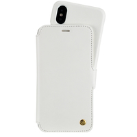 Wallet Case Magnet iPhone X/Xs Stockholm White