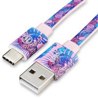 USB-A/USB-C cable 2M Barcelona Tropicat