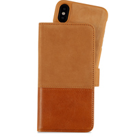 Selected Wallet Case Magnet iPhone X/Xs Trönningens Brown