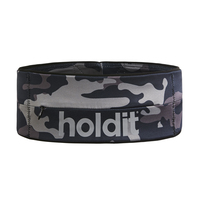 Holdit Activity Belt Black/Grey Camo Small
