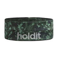 Holdit Activity Belt Black/Green Camo Small