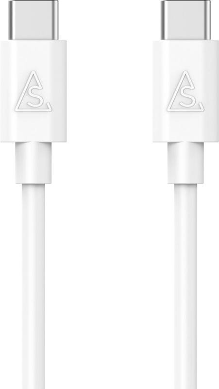 bild 1 av Kabel 2.0 USB-C / USB-C 2 m Vit