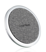 SmartLine 10W Wireless Charging Pad Silver