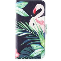 Holdit Wallet Case iPhone 6/6s/7/8 Flamingo Hibiskus