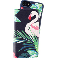 Holdit Wallet Case Magnet iP6/6s/7/8 Flamingo Hibiskus