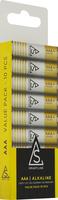 Batteri Alkaliskt LR03 1,5V AAA 10-pack