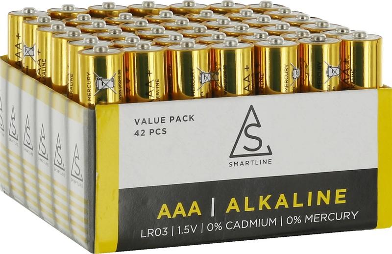 bild 1 av Batteri Alkaliskt LR03 1,5V AAA 42-pack