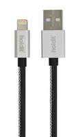 Selected LIGHTNING USB KABEL 1M GETTERÖN SVART
