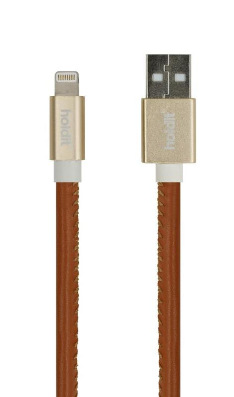 bild 1 av Selected LIGHTNING USB KABEL 1M GETTERÖN BRUN